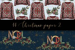 Christmas digital paper pack Product Image 4