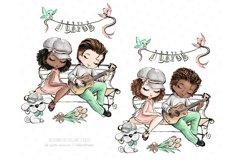 Valentine's Day clip art, love illustrations, Romantic Product Image 5
