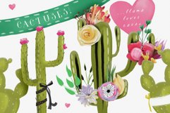 Floral Birthday Llamas Product Image 6