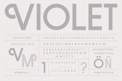 Violet   A Stylish Sans Serif Product Image 5
