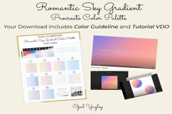Procreate Color Palette - Romantic Sky Gradient Color Combos Product Image 4
