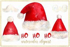 Christmas watercolor clipart bundle Product Image 4