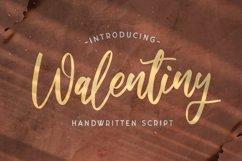 Walentiny - Handwritten Font Product Image 1