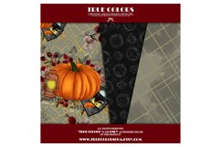 Halloween Digital Paper Pack Halloween Witch Product Image 5