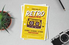 Retro Music Party Flyer Product Image 1