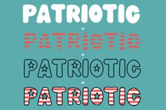 Meowica | A 4th of July Font Family Product Image 5
