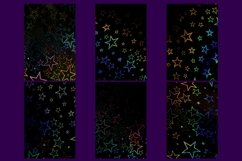 32 Holographic Stars Photography Backgrounds Product Image 4