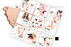 Beauty Instagram 18 Posts Template | CANVA Product Image 3
