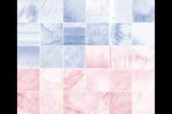 30 Ombre Serenity & Rose Quartz Watercolor Digital Papers Product Image 10