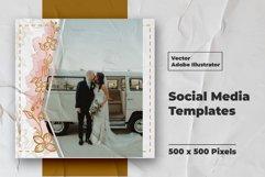 Wedding Instagram Feed Vector Product Image 5