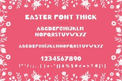 Easter Spring display fonts - Trio Product Image 6