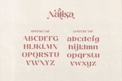 Nalisa Font - Modern Beauty Display Product Image 6