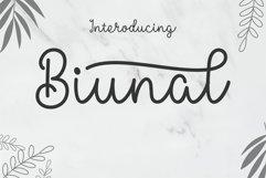 Biunal Best Font Product Image 1