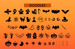 Witchcraft and Wizardry A Fun Halloween Font With Doodles Product Image 6