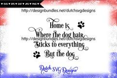 Dog text cut file, dog svg, dog cut file, paw print svg Product Image 1