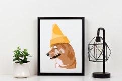 Dog Vector Illustration | Cone Dog Product Image 2
