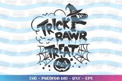 Trick Rawr Treat svg Halloween svg Dinosaur Halloween Product Image 1