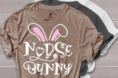 Nurse bunny svg, easter shirt svg Product Image 2