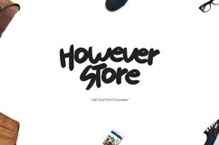 However Store Typeface Product Image 1