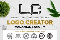 Monogram Logo Creator Product Image 1