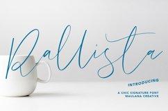 Rallista Chic Signature Font Product Image 1
