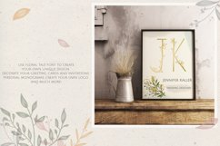 Flower Tale - Handwritten Floral Font Product Image 3