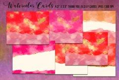 Luxury Gold Watercolor Bundle. Watercolor textures kit, Product Image 2