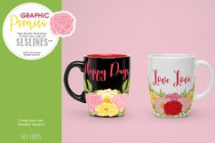 Pretty Peonies in Pink & Yellow Product Image 8