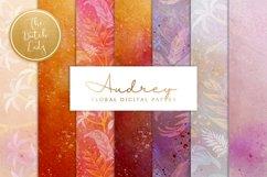 Floral Backgrounds & Paper Designs - Audrey Product Image 1