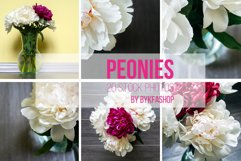 Bouquet of white and pink peonies Photo Bundle Product Image 2
