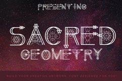 Sacred Geometry Font Product Image 1