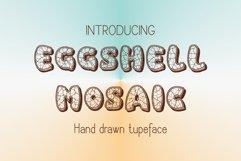 Eggshell Mosaic font Product Image 3