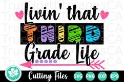 Back to School SVG | 3rd Grade SVG | Third Grade Life Product Image 2
