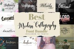 Best Modern Calligraphy Font Bundle Product Image 1