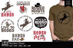 Rodeo Days - Rodeo SVG and Cut Files for Crafters Product Image 1
