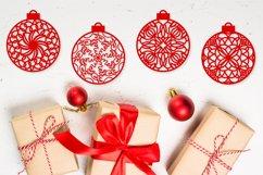 Christmas Ornament Dingbat Font Product Image 6