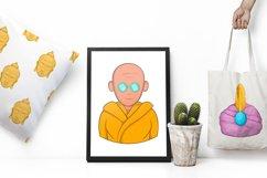 India icons set, cartoon style Product Image 2