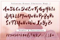 Valentine Dinner - WEB FONT Product Image 4