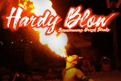 Hardy Blow Script Product Image 1