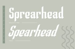 Spearhead Typeface | Font Product Image 2