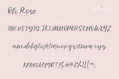 Oh Rose Brush Font Product Image 4