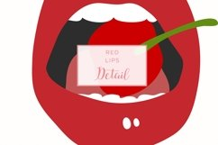 9 Red Hot Lips Graphics Product Image 2
