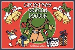 Christmas Season Doodle Product Image 1