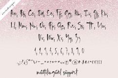 Blush Pink Handwritten Script Font Product Image 4