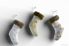 Merry Christmas watercolor collection Product Image 3