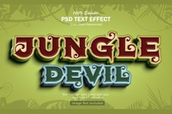 Jungle Devil Text Effect Product Image 1