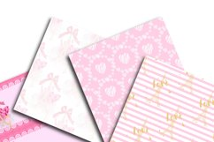 Love Digital Paper Product Image 4