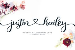 Justin Hailey - Modern Calligraphy Love Product Image 1