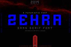 ZEHRA Modern Sans Serif Product Image 1