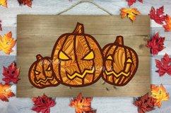 Halloween SVG 3D Layered | Multi Layer Pumpkin SVG |Cut File Product Image 4